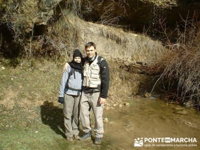 Posando en Las Majadas de Cuenca; salidas por madrid; excursion por madrid